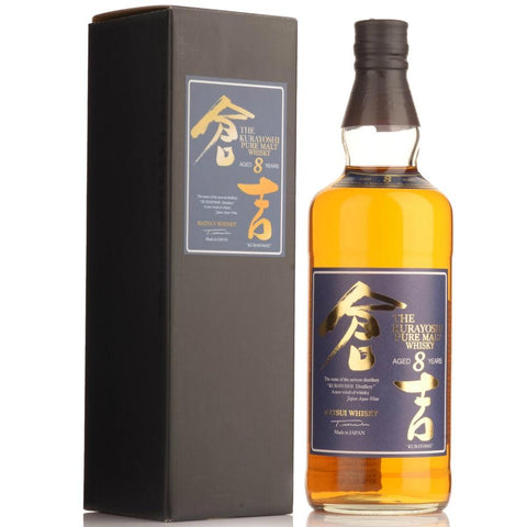 Kurayoshi Malt 8 Year Old Whisky - De Wine Spot | Curated Whiskey, Small-Batch Wines and Sakes