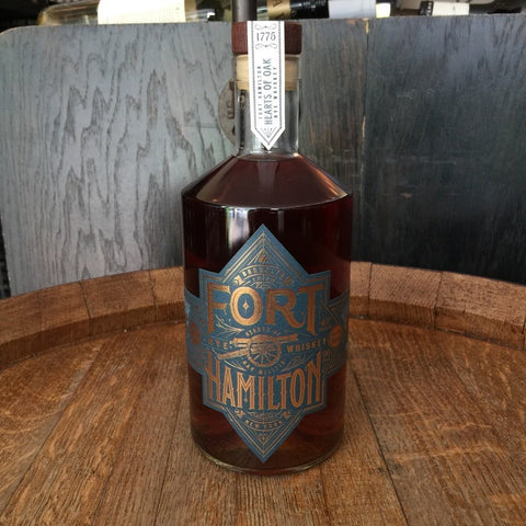 Fort Hamilton Rye Whiskey - De Wine Spot | Curated Whiskey, Small-Batch Wines and Sakes
