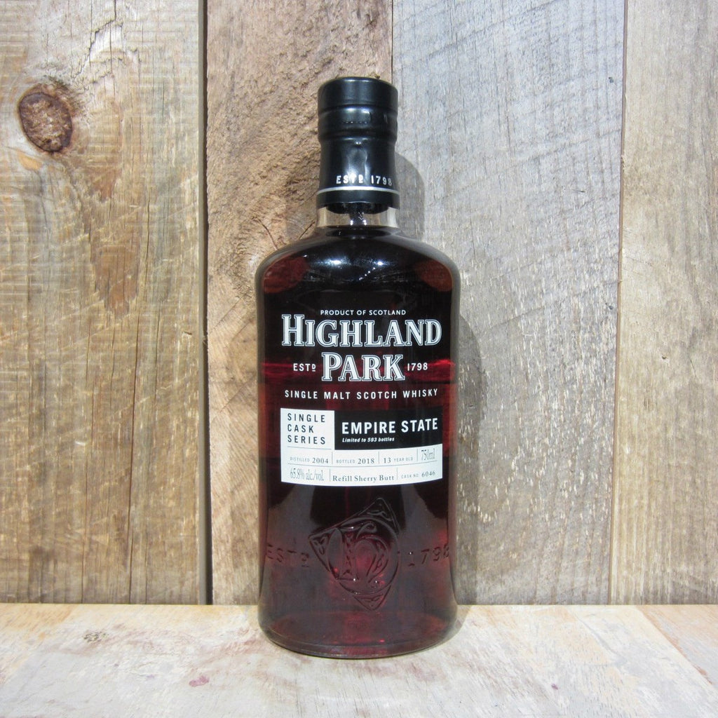 Highland Park Empire State 13 Years Single Cask Series Single Malt Scotch Whisky