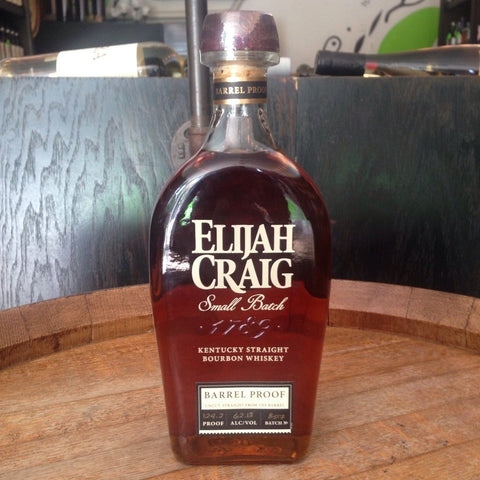 Elijah Craig Bourbon Kentucky Straight Bourbon Whiskey Barrel Proof - De Wine Spot | Curated Whiskey, Small-Batch Wines and Sakes