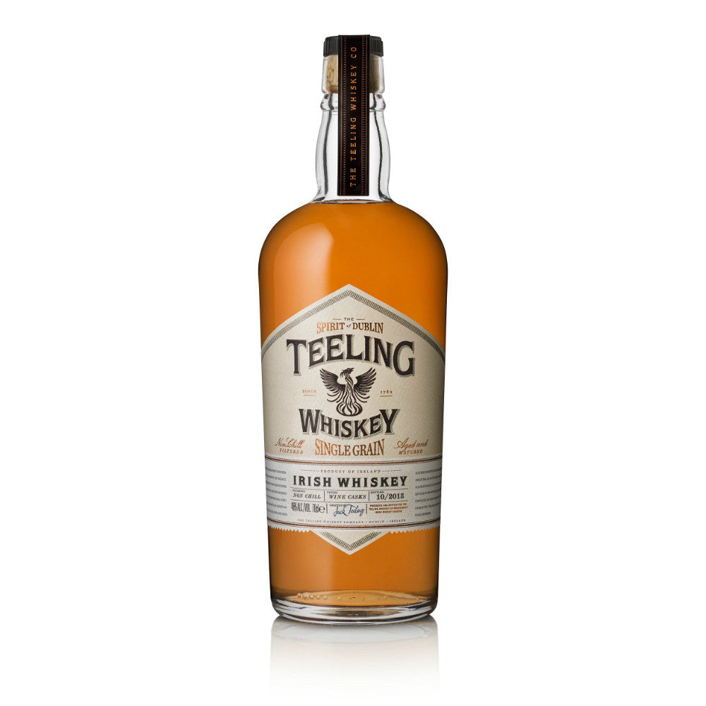 Teeling Single Grain Irish Whiskey | De Wine Spot - Curated Whiskey, Small-Batch Wines and Sakes