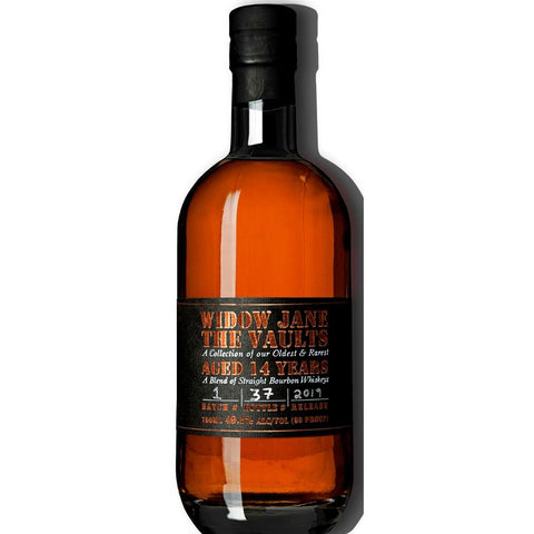 Widow Jane The Vaults 14 Years A Blend of Straight Bourbon Whiskeys