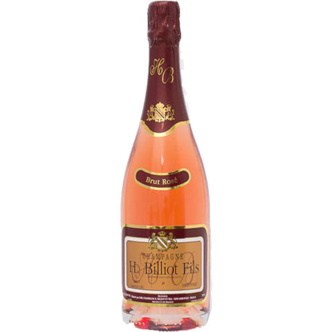 Henri Billiot Grand Cru Champagne Rose Brut | De Wine Spot - Curated Whiskey, Small-Batch Wines and Sakes