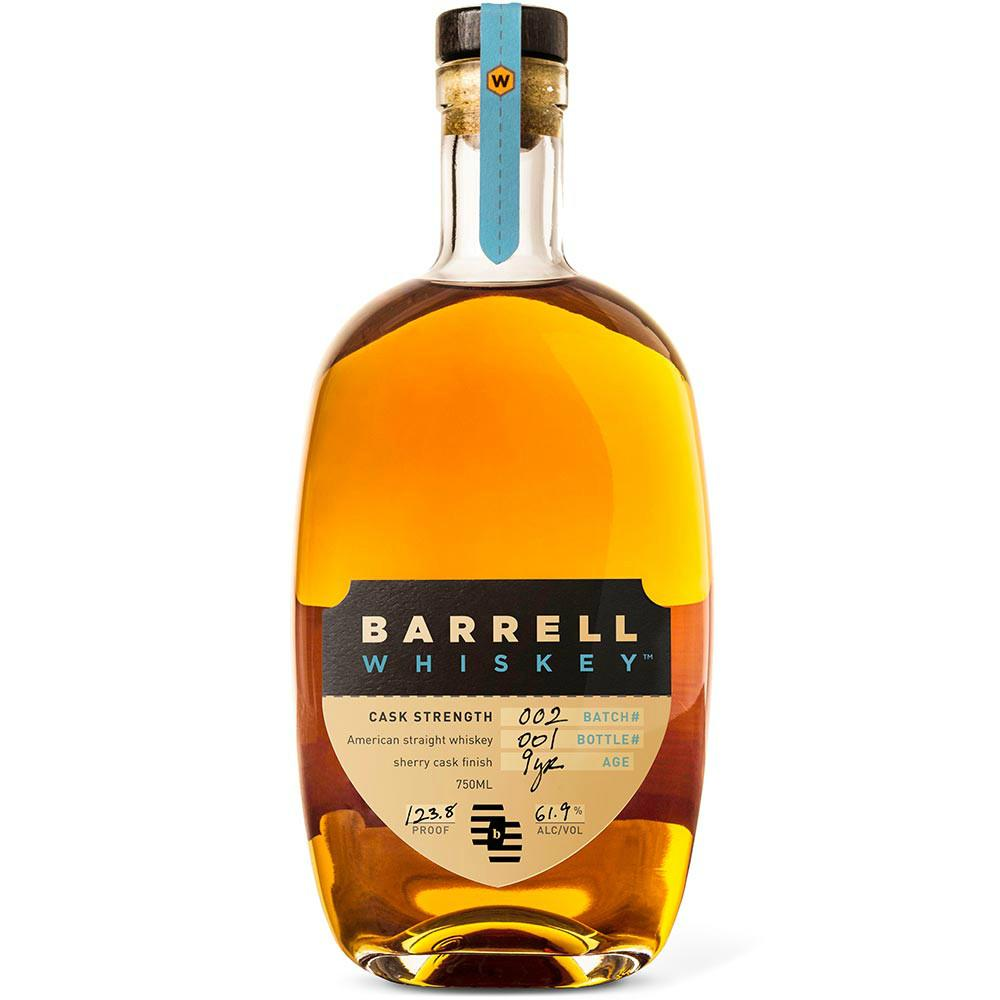 Barrell Whiskey Batch # 2 Barrel Strength Sherry Cask - De Wine Spot | Curated Whiskey, Small-Batch Wines and Sakes