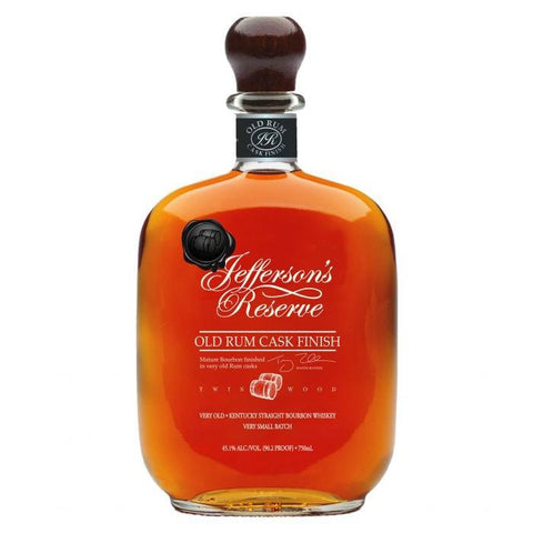 Jefferson's Reserve Old Rum Cask Finish Kentucky Straight Bourbon Whiskey