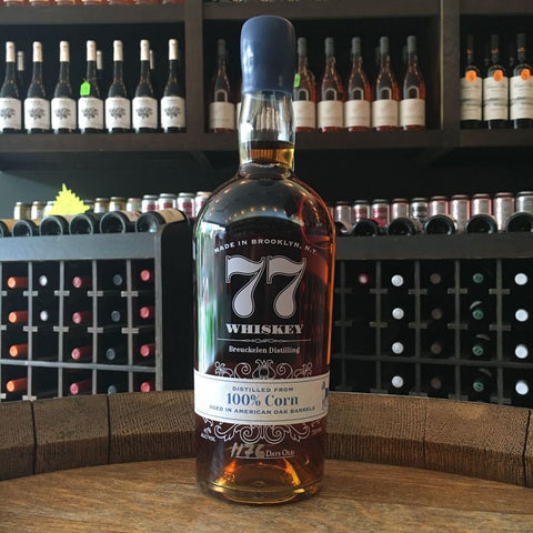 Breuckelen 77 Whiskey 100% Corn - De Wine Spot | Curated Whiskey, Small-Batch Wines and Sakes
