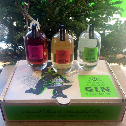 Greenhook Ginsmiths Gin Discovery Set Gift Pack | De Wine Spot - Curated Whiskey, Small-Batch Wines and Sakes