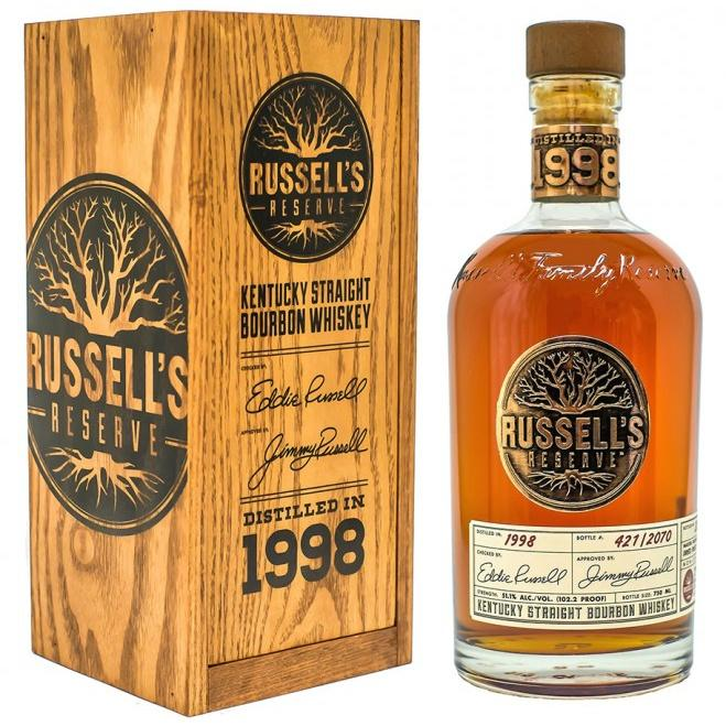 Russell's Reserve 1998 Kentucky Straight Bourbon Whiskey - De Wine Spot | Curated Whiskey, Small-Batch Wines and Sakes