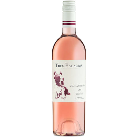 Tres Palacios Valle del Maipo Cabernet Franc Rose | De Wine Spot - Curated Whiskey, Small-Batch Wines and Sakes