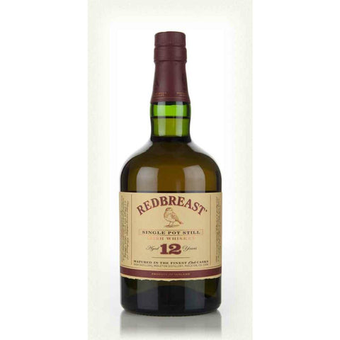 Redbreast 12 Years Single Pot Still Irish Whiskey - De Wine Spot | DWS - Drams/Whiskey, Wines, Sake