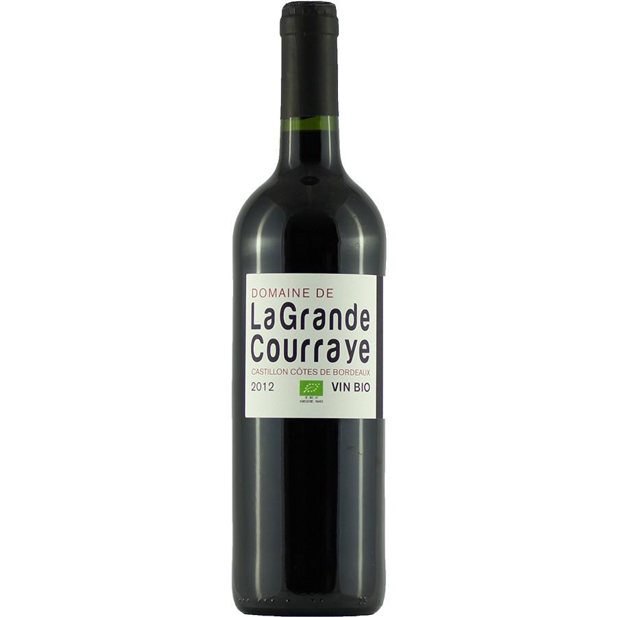 Domaine de la Grande Courraye Castillon Cotes de Bordeaux | De Wine Spot - Curated Whiskey, Small-Batch Wines and Sakes