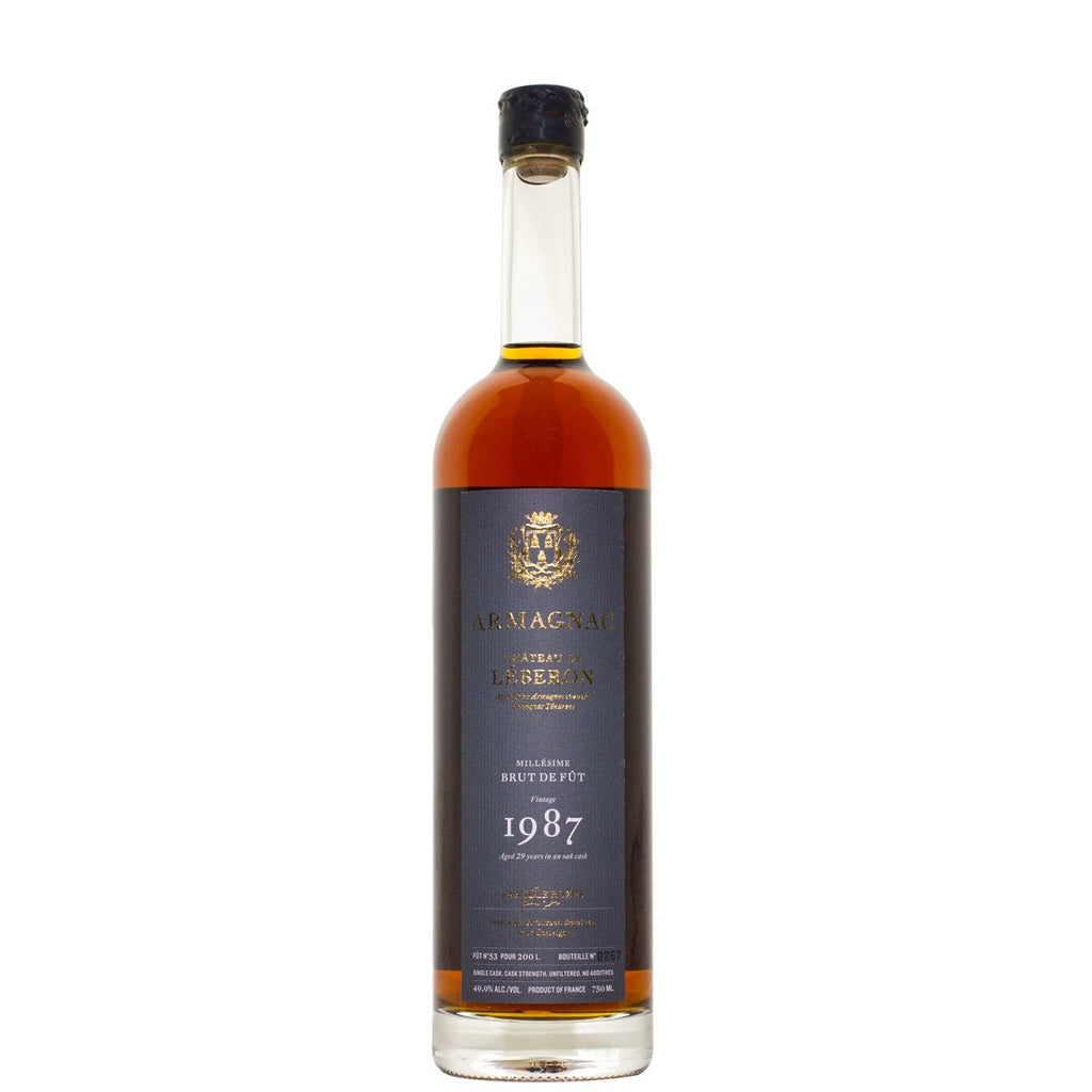 Chateau de Leberon 1987 Armagnac-Tenareze - De Wine Spot | Curated Whiskey, Small-Batch Wines and Sakes