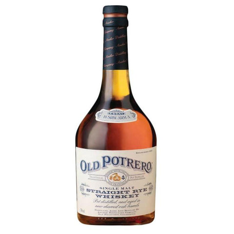 Old Potrero Rye Straight Single Malt - De Wine Spot | Curated Whiskey, Small-Batch Wines and Sakes