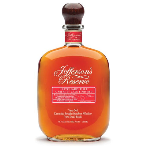 Jefferson's Pritchard Hill Cabernet Cask Finished Kentucky Straight Bourbon Whiskey