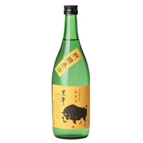 Kuroushi Omachi Black Bull Junmai Ginjo Sake - De Wine Spot | Curated Whiskey, Small-Batch Wines and Sakes