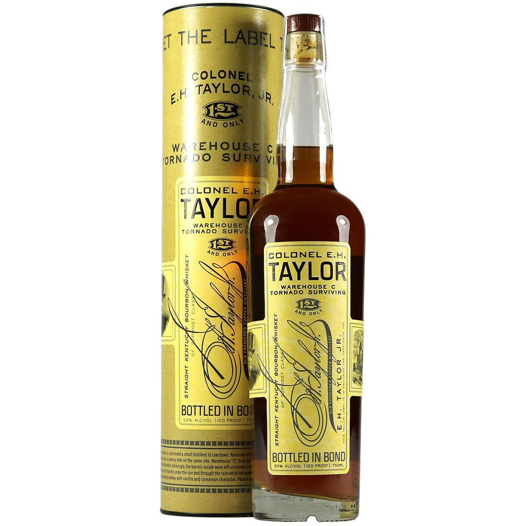 The Colonel E.H. Taylor Warehouse C Tornado Surviving Bourbon Whiskey | De Wine Spot - Curated Whiskey, Small-Batch Wines and Sakes
