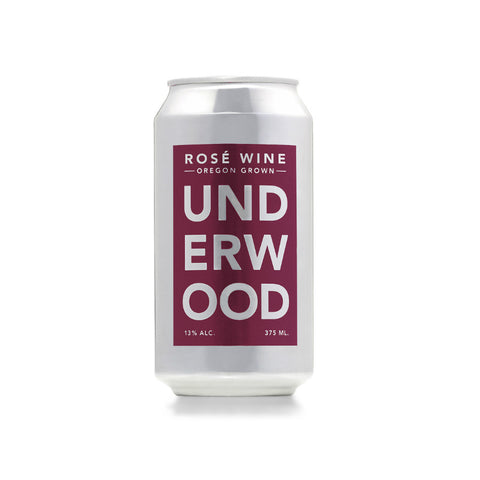 Underwood Cellars Rose Can | De Wine Spot - Curated Whiskey, Small-Batch Wines and Sakes