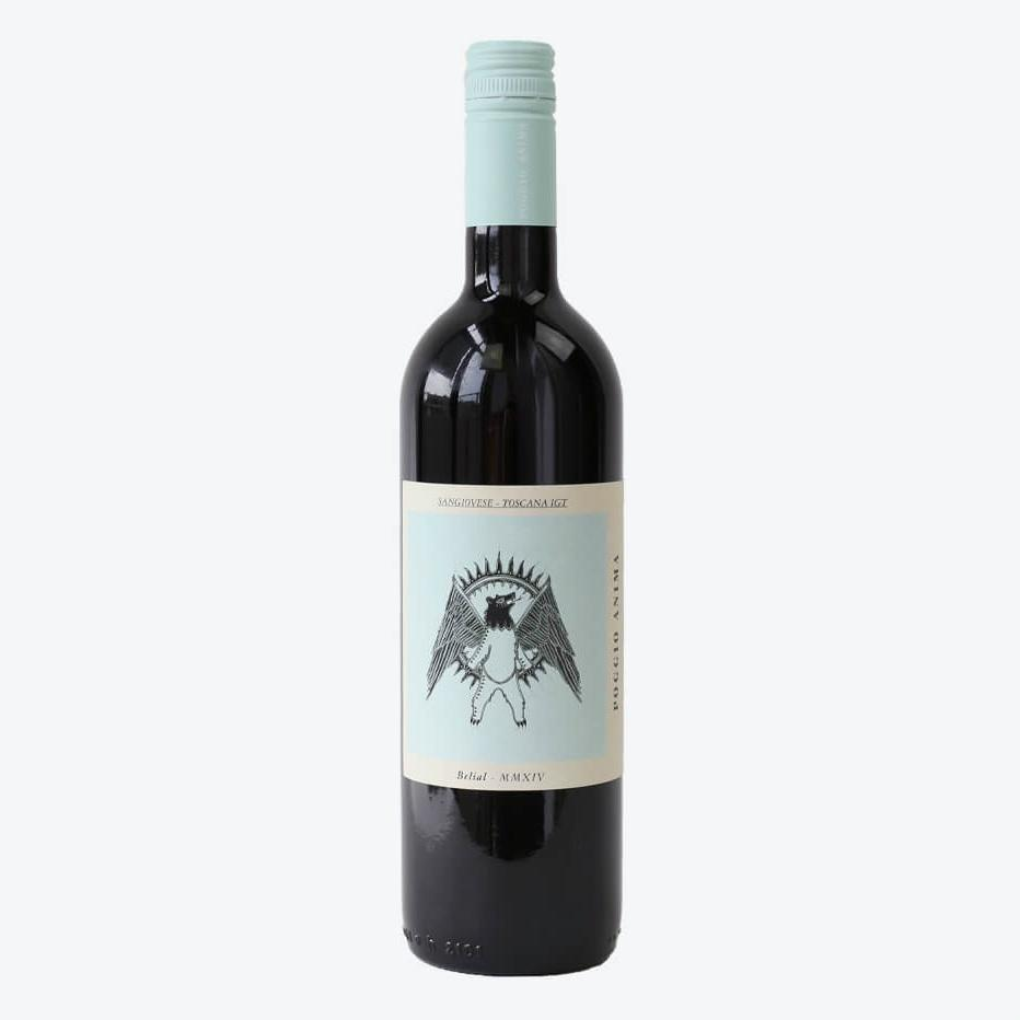 Poggio Anima Belial Toscana IGT Sangiovese | De Wine Spot - Curated Whiskey, Small-Batch Wines and Sakes