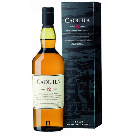 Caol Ila 12 Years Old Islay Single Malt Scotch Whisky - De Wine Spot | Curated Whiskey, Small-Batch Wines and Sakes