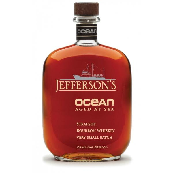 Jefferson's Ocean Aged At Sea Kentucky Straight Bourbon Whiskey Very Small Batch - De Wine Spot | Curated Whiskey, Small-Batch Wines and Sakes