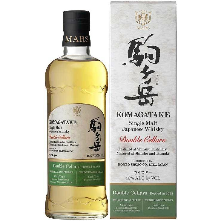 Komagatake Double Cellars Single Malt Japanse Whisky - De Wine Spot | Curated Whiskey, Small-Batch Wines and Sakes