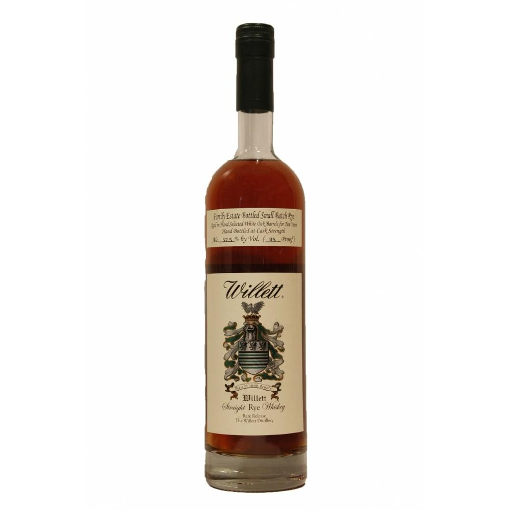 Willett Family Estate Single Barrel 10 Year Old Straight Rye Whiskey - De Wine Spot | Curated Whiskey, Small-Batch Wines and Sakes