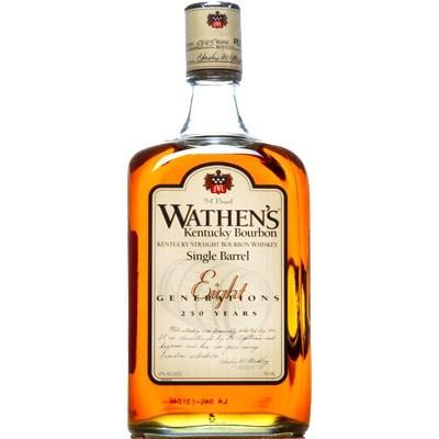 Wathen's Single Barrel Kentucky Straight Bourbon Whiskey - De Wine Spot | Curated Whiskey, Small-Batch Wines and Sakes