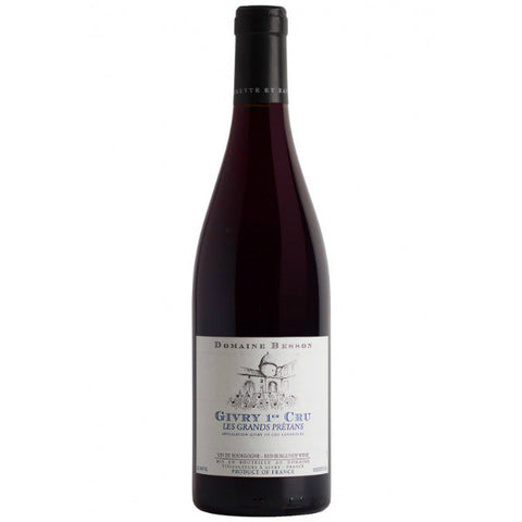 Domaine Xavier Besson Givry Rouge 1er Cru Grands Pretans - De Wine Spot | Curated Whiskey, Small-Batch Wines and Sakes