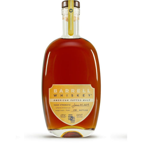 Barrell Whiskey American Vatted Malt - De Wine Spot | Curated Whiskey, Small-Batch Wines and Sakes