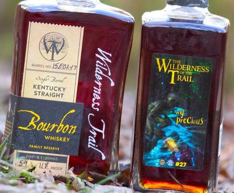 "Wilderness Trail Breaking Bourbon ""The Wilderness of the Trail"" Single Barrel Kentucky Straight Bourbon Whiskey - De Wine Spot 