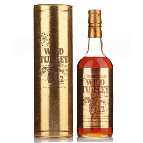 Wild Turkey Cheesy Gold Foil - De Wine Spot | Curated Whiskey, Small-Batch Wines and Sakes