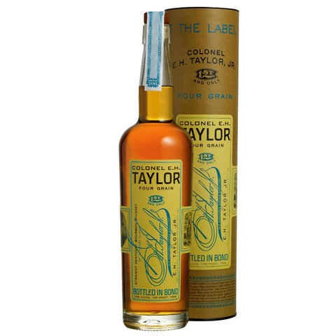 The Colonel E.H. Taylor Four Grain Bourbon Whiskey | De Wine Spot - Curated Whiskey, Small-Batch Wines and Sakes