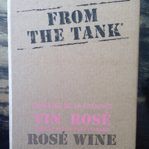 Earl Domaine de la Patience From The Tank Rose - De Wine Spot | Curated Whiskey, Small-Batch Wines and Sakes