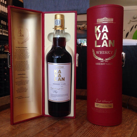 Kavalan Sherry Cask Strength Whisky US Release - De Wine Spot | Curated Whiskey, Small-Batch Wines and Sakes