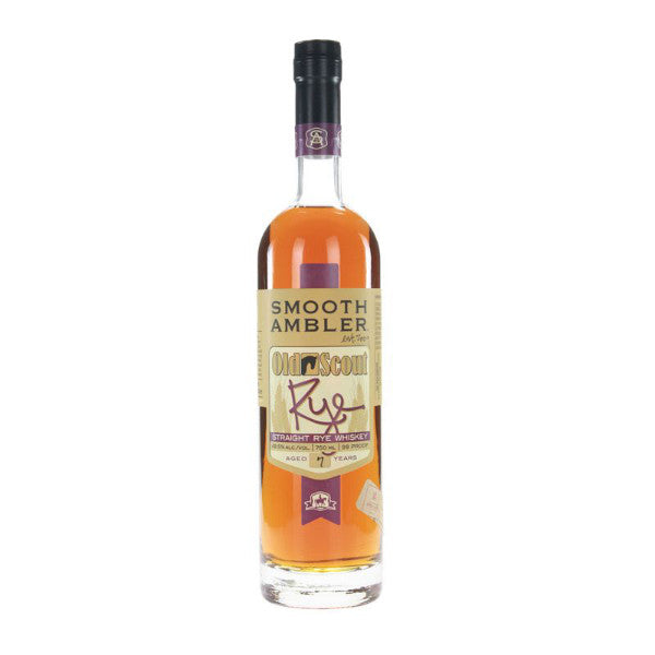 Smooth Ambler Old Scout Straight Rye Whiskey - De Wine Spot | Curated Whiskey, Small-Batch Wines and Sake Collection