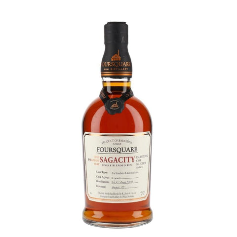 "Foursquare Distillery Mark XI ""Sagacity"" 12 Year Old Exceptional Cask Selection Single Blended Rum"
