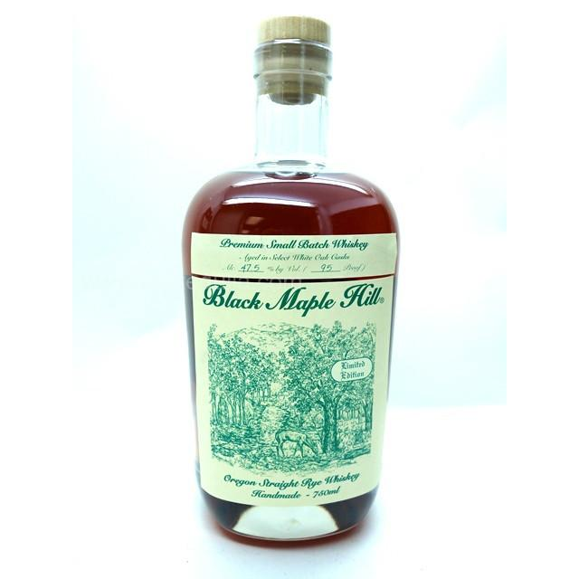 Black Maple Hill Oregon Straight Rye Whiskey - De Wine Spot | Curated Whiskey, Small-Batch Wines and Sakes