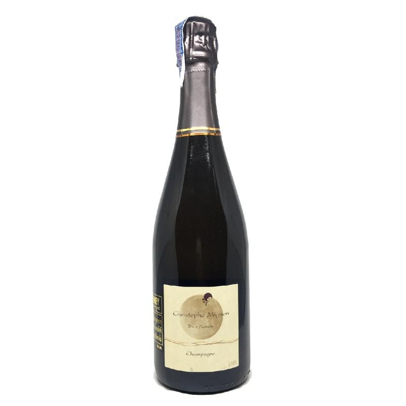 Christophe Mignon Pur Meunier Blanc de Noirs Brut Nature - De Wine Spot | Curated Whiskey, Small-Batch Wines and Sakes