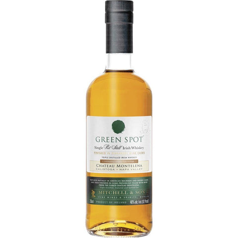 Green Spot Chateau Montelena Single Pot Still Irish Whiskey - De Wine Spot | DWS - Drams/Whiskey, Wines, Sake