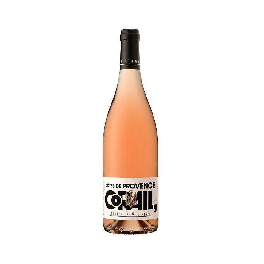 Chateau de Roquefort Corail Cotes de Provence Rose - De Wine Spot | Curated Whiskey, Small-Batch Wines and Sakes