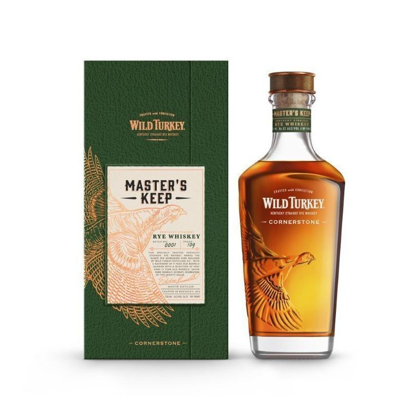 "Wild Turkey Rye Master's Keep ""Cornerstone"" 109 Proof Rye Whiskey"
