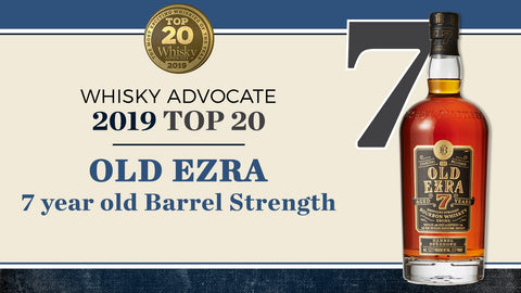 Old Ezra 7 Years Barrel Strength Kentucky Straight Bourbon Whiskey - De Wine Spot | Curated Whiskey, Small-Batch Wines and Sakes