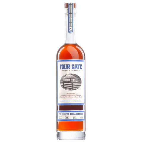 Four Gate Whiskey Batch 1 Kelvin Collaboration - De Wine Spot | Curated Whiskey, Small-Batch Wines and Sakes