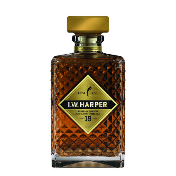 I.W.Harper Age 15 Years Kentucky Straight Bourbon Whiskey - De Wine Spot | Curated Whiskey, Small-Batch Wines and Sakes