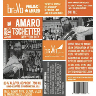 BroVo Project Amaro NYC Tschetter - De Wine Spot | Curated Whiskey, Small-Batch Wines and Sakes
