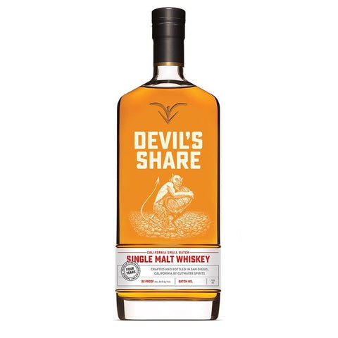Devil's Share Whiskey Single Malt | De Wine Spot - Curated Whiskey, Small-Batch Wines and Sakes
