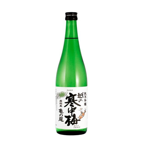 Niigata Meijo Koshino Kanchubai Kamenoo Junmai Ginjo Sake - De Wine Spot | Curated Whiskey, Small-Batch Wines and Sakes