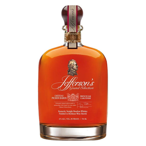 "Jefferson's Grand Selection Kentucky Straight Bourbon Whiskey ""Finished in Chateau Pichon Baron French Oak Casks"""