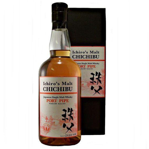 Chichibu Ichiro's Port Pipe Single Malt  Whisky - De Wine Spot | Curated Whiskey, Small-Batch Wines and Sakes
