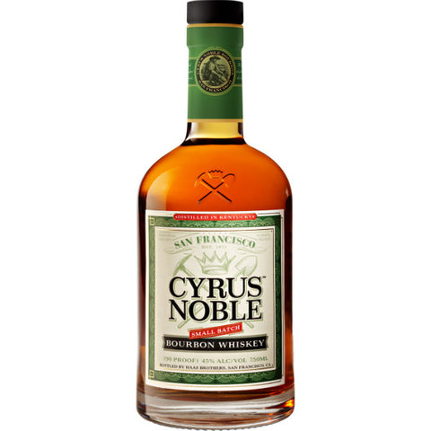 Cyrus Noble Small Batch Bourbon - De Wine Spot | Curated Whiskey, Small-Batch Wines and Sakes
